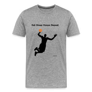 Eat Sleep Hoops Repeat - Men's Premium T-Shirt