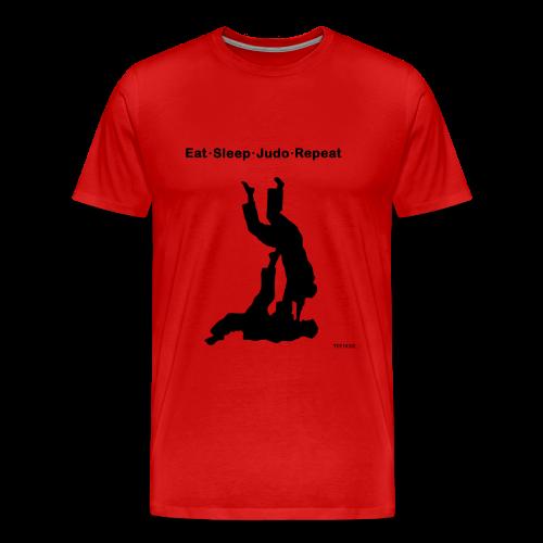 Eat Sleep Judo Repeat - Men's Premium T-Shirt
