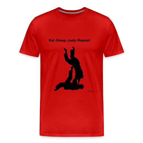 Eat Sleep Judo Repeat - Men's Premium T-Shirt