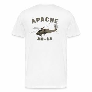 Apache with Master Aviator - Men's Premium T-Shirt