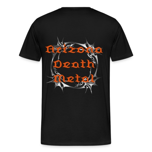 Arizona Death Metal T-shirt - Men's Premium T-Shirt