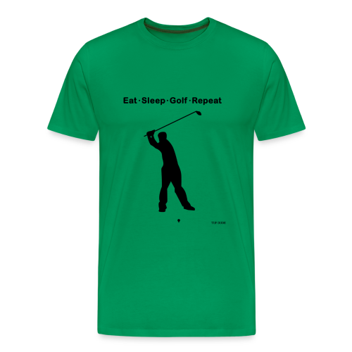 Eat Sleep Golf Repeat - Men's Premium T-Shirt