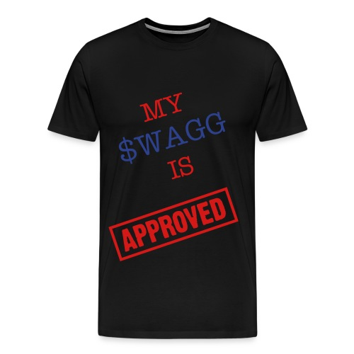 $SWAGG aPPROVED - T-SHIRT - Men's Premium T-Shirt