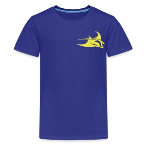 Manta Ray Royal Blue T - Kids' Premium T-Shirt