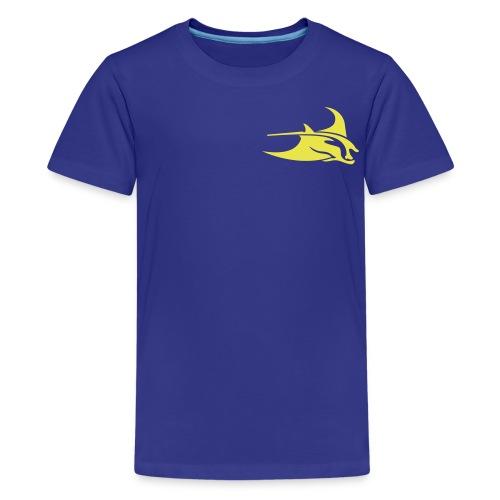 Manta Ray Royal Blue T - Kids' Premium T-Shirt
