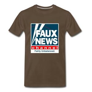Faux News Channel Tee - Men's Premium T-Shirt