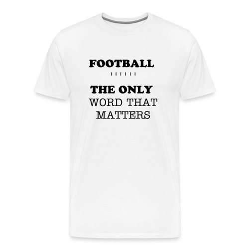 Men's 3XL FOOTBALL Tee - Men's Premium T-Shirt