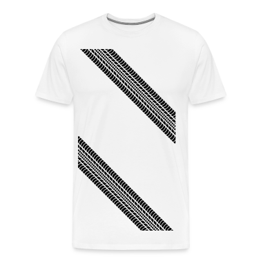 Tire Profile Corner T-Shirts