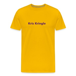 Kris Kringle - T-Shirt - Men's Premium T-Shirt
