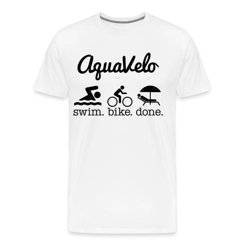Aquavelo Mens T-Shirt - Men's Premium T-Shirt