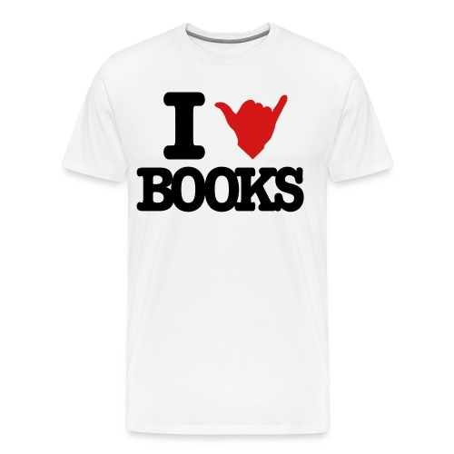 I Shaka Books - Men's Premium T-Shirt