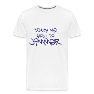 Teach Me How To Jimmer (Purple Text) - Men's Premium T-Shirt