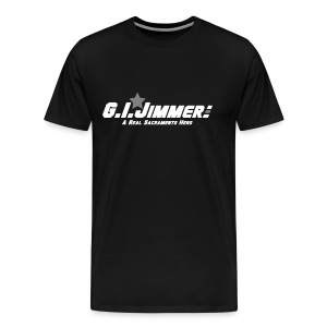 GI Jimmer Black Shirt - Men's Premium T-Shirt