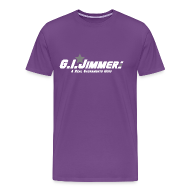 T-Shirts ~ Men's Premium T-Shirt ~ GI Jimmer Purple Shirt