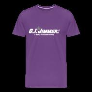 T-Shirts ~ Men's Premium T-Shirt ~ GI Jimmer Purple Shirt