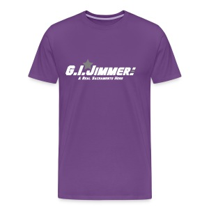 GI Jimmer Purple Shirt - Men's Premium T-Shirt