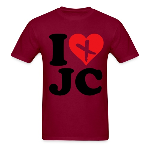 I Love JC - Men's T-Shirt