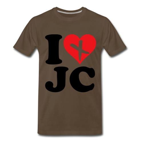 I Love JC - Men's Premium T-Shirt