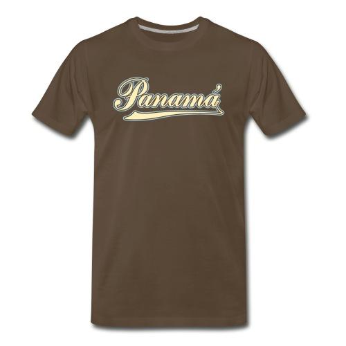Panama Classic Cursive - Men's Premium T-Shirt
