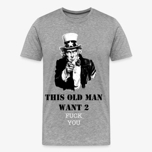 Uncle Sam - Crunkatlanta - Men's Premium T-Shirt