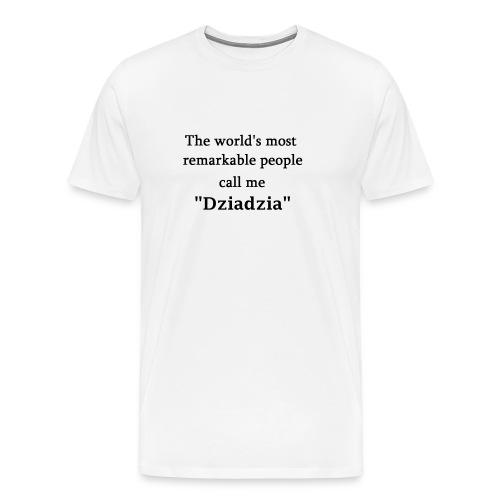 dziadzia - Men's Premium T-Shirt