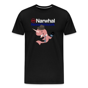 Narwhal News Network - Men's Premium T-Shirt