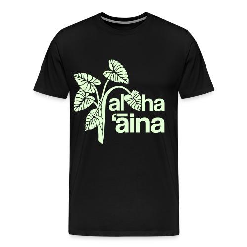 (Hawaiian) Aloha Aina - Men's Premium T-Shirt