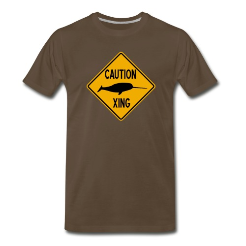 Narwhal Xing - Men's Premium T-Shirt