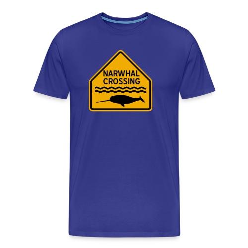 Narwhal Crossing - Men's Premium T-Shirt