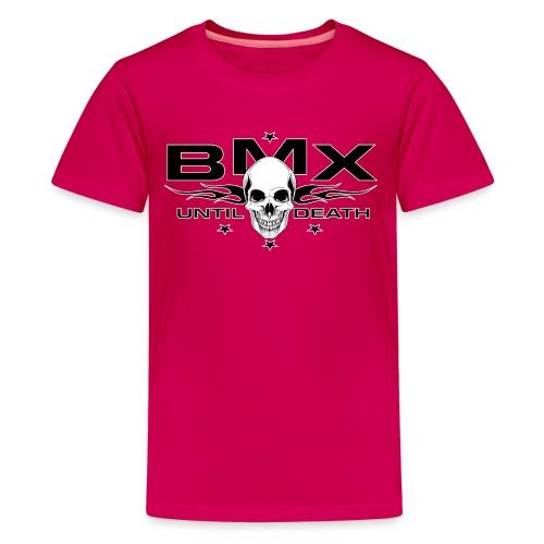 BMX til death - Kids' Premium T-Shirt
