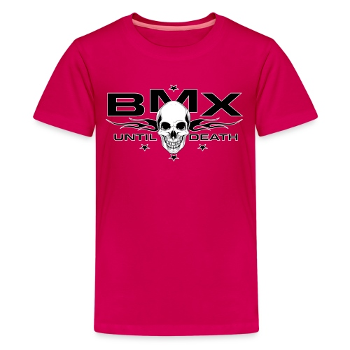 BMX til death - Kids' Premium T-Shirt