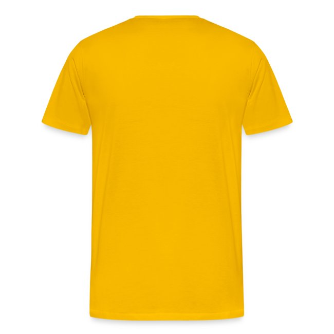 I Bust Mine To Kick Yours Soccer T-Shirt Yellow and Black