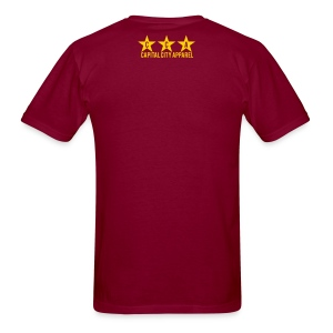 Hail Victory Men's Tee - Burgundy - Men's T-Shirt