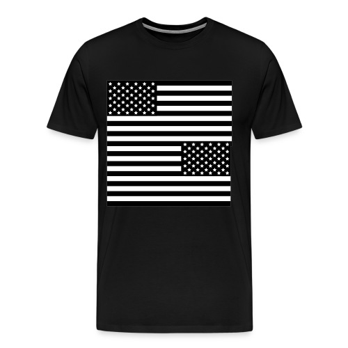 Star Tee White - Men's Premium T-Shirt