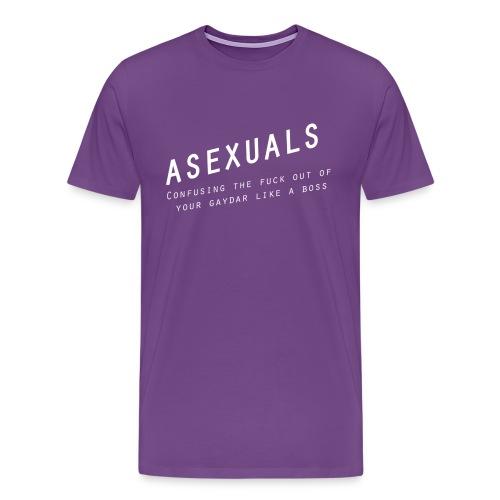 Asexuals - Gaydar - Men's Premium T-Shirt