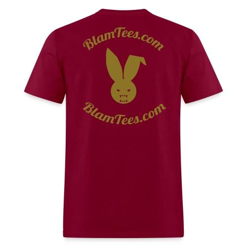 Quit Stalking - Twitter Parody - Men's T-Shirt - Men's T-Shirt