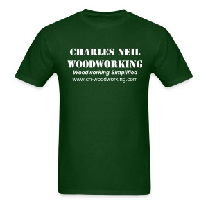 Men's S-XXL - Charles Neil Woodworking Basic Tee - Men's T-Shirt