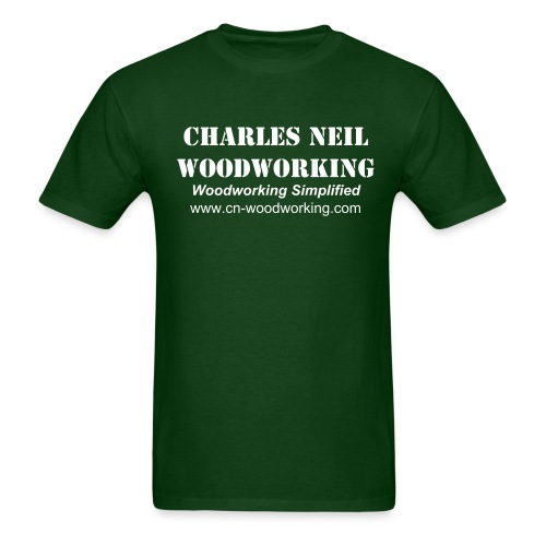 Men's S-XXL - Charles Neil Woodworking Sneakin' Tee - Men's T-Shirt