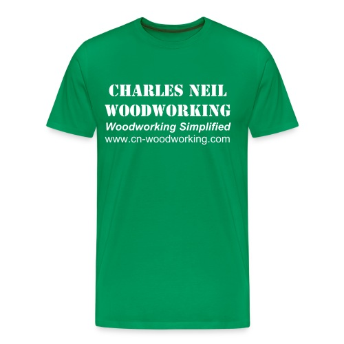 Men's 3X - Charles Neil Woodworking Sneakin' Tee - Men's Premium T-Shirt