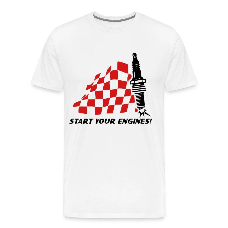 Start you engines! - Men's Premium T-Shirt