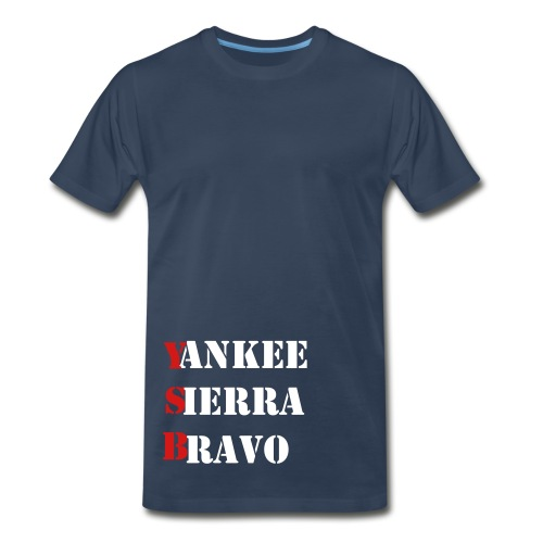 Military Phonetic - Men's Premium T-Shirt