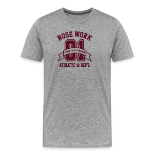 Nose Work Athletic Dept. - Men's Premium T-Shirt
