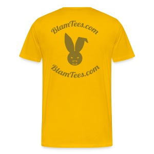 The Nut House - Jockstrap Athletic Supporter - Mens T-Shirt - Men's Premium T-Shirt