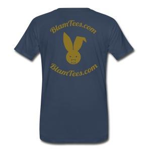 Shotgun - Gets You The Front Seat - Men's T-Shirt - Men's Premium T-Shirt