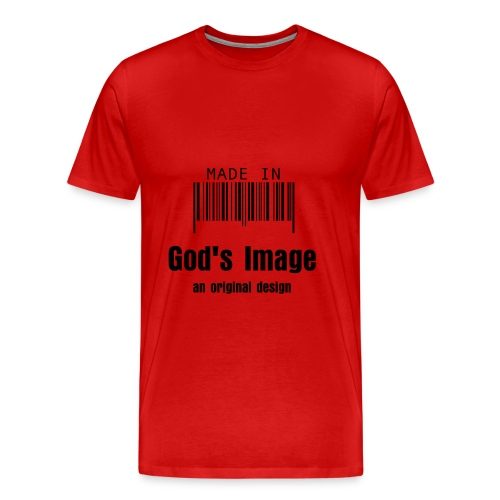 GOD'S IMAGE - Men's Premium T-Shirt
