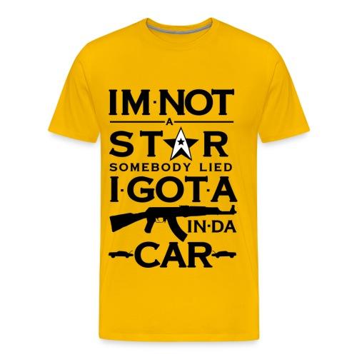 Im Not A Star T-Shirt - Men's Premium T-Shirt