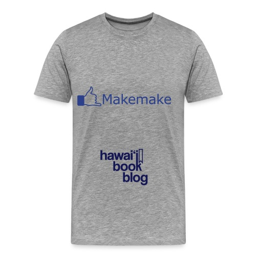 (Hawaiian) Facebook Like 3X - Men's Premium T-Shirt