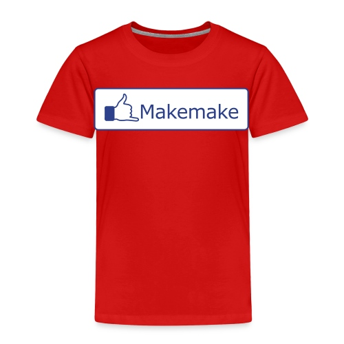(Hawaiian) Facebook Like - Toddler Premium T-Shirt
