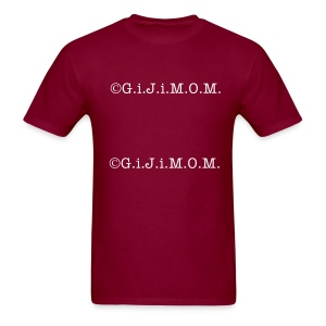 ©G.i.J.i.M.O.M.  double branded tee shirt - Men's T-Shirt