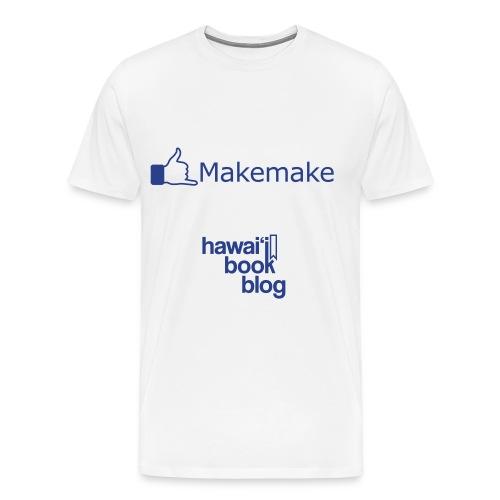 (Hawaiian) Facebook Like - Men's Premium T-Shirt